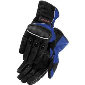 FirstGear Mesh Tex Mens Leather Street Bike Racing Motorcycle Gloves