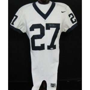 Joe Paterno Autographed/Signed Penn State GAME Jersey PSA