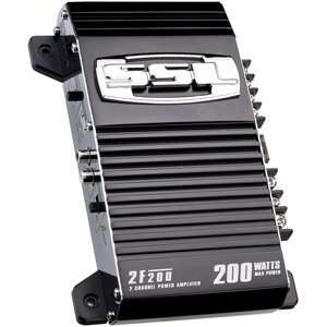 SOUNDSTORM 2F200 Force 2 Channel High Power Amplifier 200