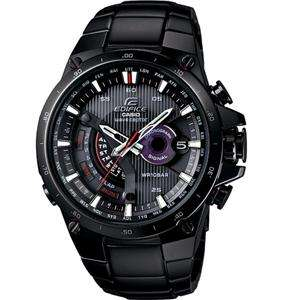 NEW CASIO EDIFICE BLACK TOUGH SOLAR POWER EQWA1000DC 1A FAST SHIPPING