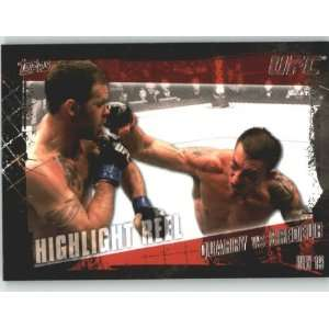 2010 Topps UFC Trading Card # 190 Nate Quarry vs Tim Credeur
