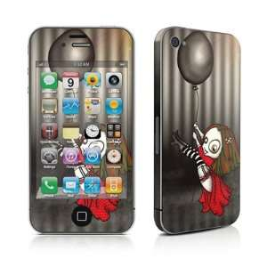 Black Balloon Design Protective Skin Decal Sticker for Apple iPhone