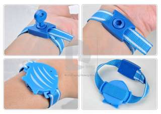 Fish Wristband Anti Lost Alarm Safety Security For Baby Pet Purse+2