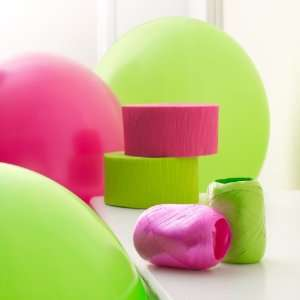 Lets Party By Hot Pink & Lime Green Decorating Kit