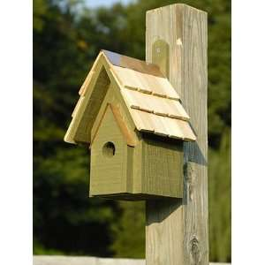 Classic Green Bird House Patio, Lawn & Garden