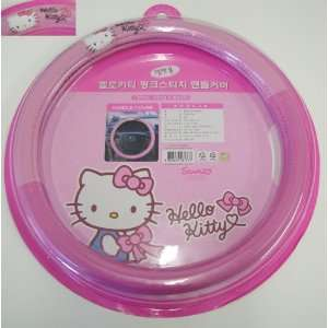 Hello Kitty Sanrio Pink Car Steering Wheel Cover Automotive
