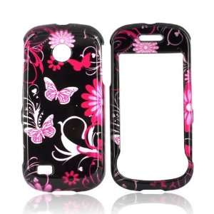 For Samsung Eternity 2 Hard Case Cover PINK FLORAL Cell