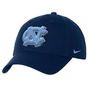Nike North Carolina Tar Heels (UNC) Navy Wool Classic III