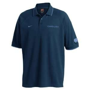 Nike North Carolina Tar Heels (UNC) Navy Power Sweep Polo
