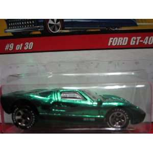 Ford GT 40 (Spectraflame Green) 2005 Hot Wheels Classics