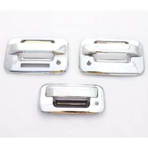 04 11 Ford F 150 (2 Doors) Chrome Door Handle & Tailgate Covers