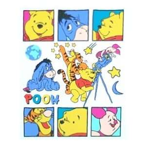 Cute Japanese Mini Pooh Stickers (Unitech) Toys & Games
