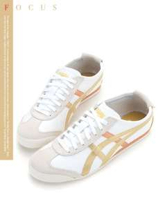 Asics Onitsuka Tiger Mexico 66 White/Gold Shoes T50