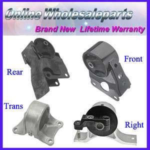 02 06 Nissan Alitma 2.5L #M029 Transmission Engine Motor Mounts Set AT