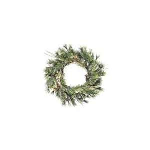 24 Mixed Country Artificial Christmas Wreath