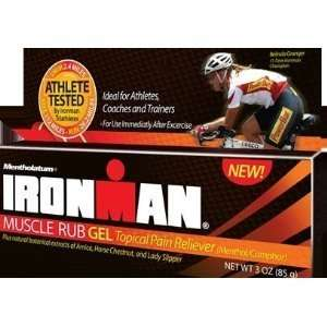 Ironman Muscle Rub Gel Topical Pain Reliever 3 oz (85 g