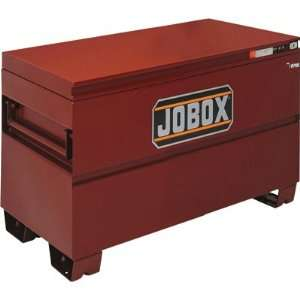 Jobox 48in. Heavy Duty Steel Chest   Site Vault Security System, 24.3