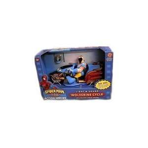 Spider man & Friends Light & Sound Wolverine Cycle with