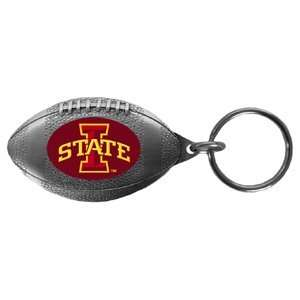Iowa State Cyclones College Football Shaped Key Chain