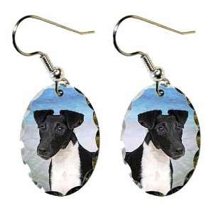 Smooth Fox Terrier Earrings