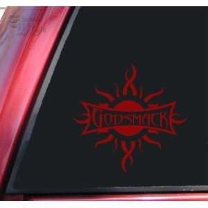 Godsmack Vinyl Decal Sticker   Dark Red Automotive