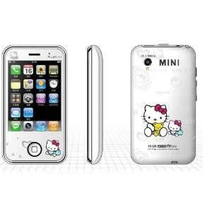 Hk008 Mini White Tv Dual Sim Mobile Phone Cell Phones & Accessories