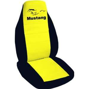 1991 Ford Mustang GT seat covers. One front set of seat covers. Balck