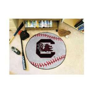 South Carolina Gamecocks 29 Round Baseball Mat