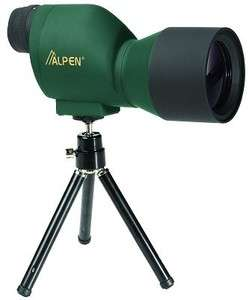 Alpen Waterproof 20x50 Spotting Scope 711