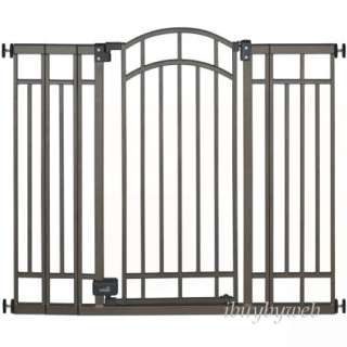 Summer Infant Tall Decorative Walk Thru Baby Pet Gate