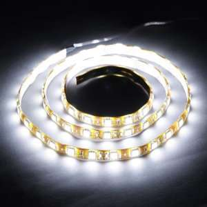 1M 60 LED 5050 SMD Flexible Car Strip Light Waterproof Automotive