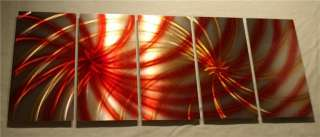 ABSTRACT METAL Wall ART Painting SCULPTURE