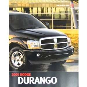 2005 DODGE DURANGO Sales Brochure Literature Book