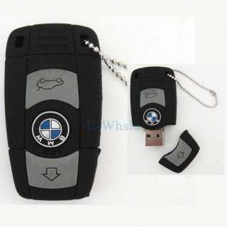 4G or 8G or 16G or 32GB Black Auto Car BMW USB2.0 Flash Memory Stick