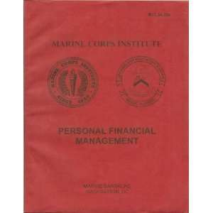 Marine Corps Institute Personal Financial Management MCI