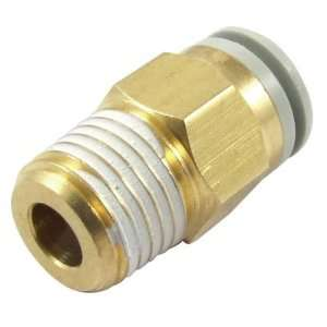 25/64 Male Thread Air Quick Coupler Straight Connector for 5/16 Tube