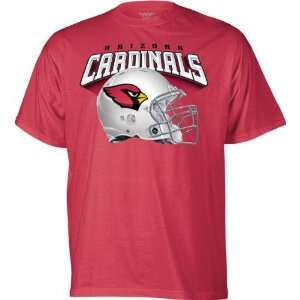 Arizona Cardinals Red The Big Helmet T Shirt Sports