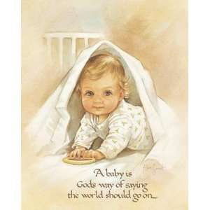Baby Is God S Way Poster Print