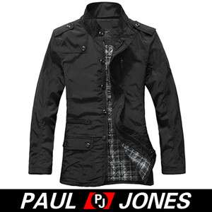 PJ 328,NEW 2012 fashion style sexy Men Slim Fit zip+button coat