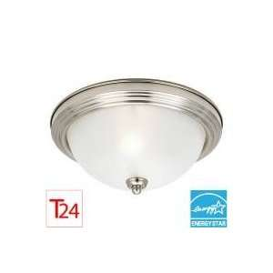 Sea Gull Lighting 79264BLE Sussex 1   Light Flush Mount   Energy Star