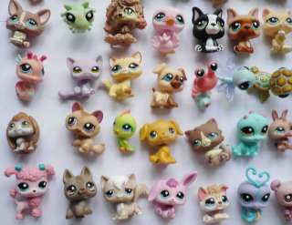 lots of 12 random different Littlest Pet Shop figure #9