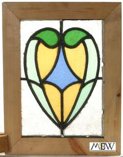Antique Lead Glazed Stained Glass Window (FGBA900013)
