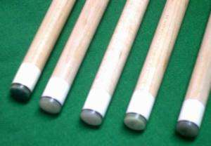 Cheng New G10 Phenolic Jump Break Billiards Pool Cue Tip 5pcs
