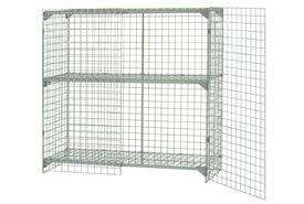 Wire Mesh Security Cage 48x24x60