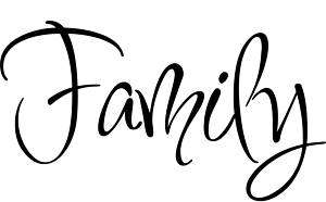 Family Inspiration Home Decor Vinyl Decal Wall Sticker