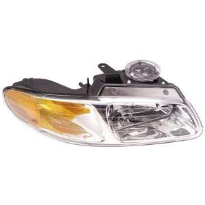00 00 CHRYSLER TOWN&COUNTRY Right Headlight (W/O QUAD LAMP
