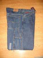 NEW US POLO ASSN MENS CARPENTER DENIM JEANS 42 X 34