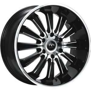 Motiv Maximus 20x9 Chrome Black Wheel / Rim 6x5.5 with a 30mm Offset
