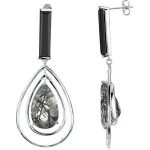 Silver & 14K White Gold, . Jewelry