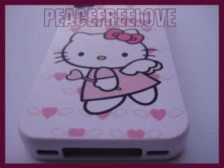 Authentic Sanrio Hello Kitty Silicone Rubber Skin Case Cover for